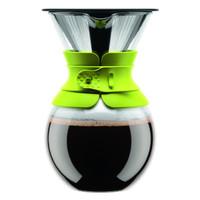 Bodum POUR OVER Kaffeebereiter in limmettengrün