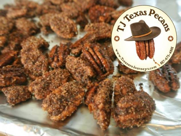 Sweet n Spicy TJ Texas Pecans