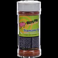 Dizzy Pig Tsunami Spin BBQ Spice Rub - 8 ounce shaker bottle