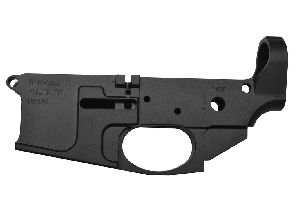 Pack of 10 - 223 Multi-cal Billet Lower Receiver