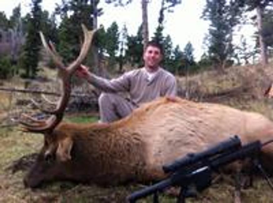 Brad Bags his Bull