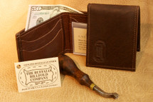 Buffalo Hide Two Fold Wallet