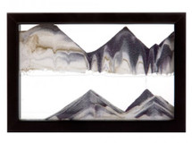 Black Horizon Sandpicture