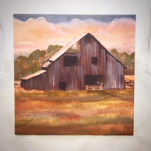 """Prairie Barn"" by Jeanne Rorex Bridges"