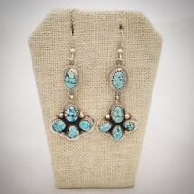 Dry Creek Turquoise and Sterling Silver earrings