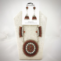 Red Coral Petit Point Set 52-462