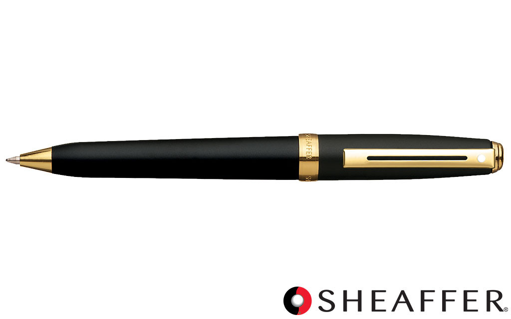 Sheaffer Pen Defini Matt Black Ballpoint NEW