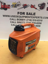 Generac 2,000-Watt Gasoline Powered Inverter Generator 6719 Salesman Demo