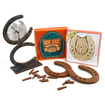 Horseshoes and Nails Small Gift Box