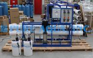 Máquina Comercial Ósmosis Inversa para Agua Salobre 43,000 GPD - Peru