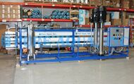 Sistema Ósmosis Inversa Industrial para Agua Salobre 130,000 GPD - Líbano