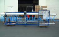 Máquina  Industrial Ósmosis Inversa para Agua Salobre 43,000 GPD - Túnez