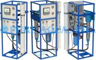 Dispositivos Comerciales Ósmosis Inversa para Agua Salobre 4x 1,500 GPD - Emiratos Árabes Unidos