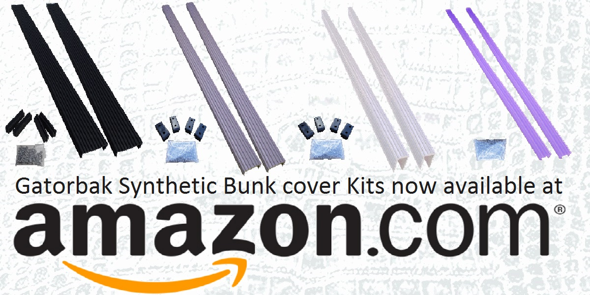 Gatorbak Synthetic Bunk Covers are available on Amazon!