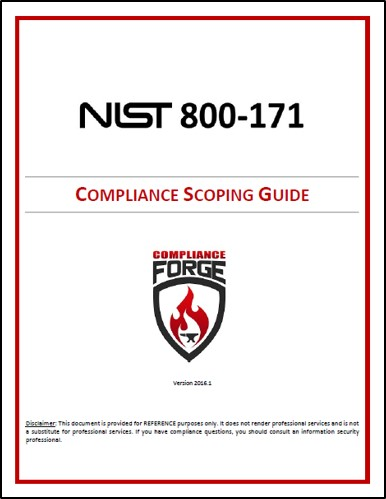 Nist 800 171 compliance affordable editable templates nist 800 171 scoping considerations pronofoot35fo Image collections