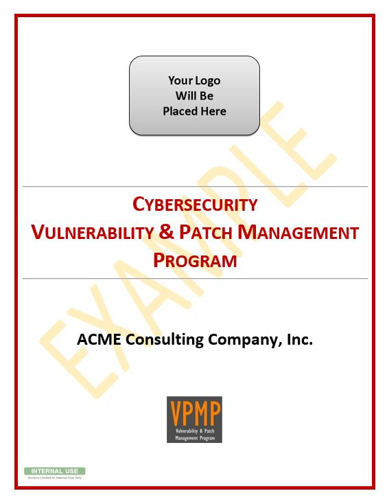 Fully editable Microsoft Word document - Vulnerability & Patch Management Program