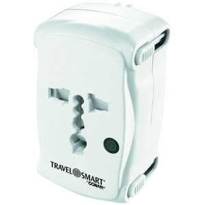 Conair TS237AP Travel Smart Adapter w/ Surge Protector