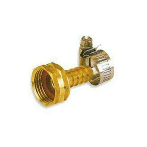 "MintCraft GB934F3L 1/2"" Brass Female Hose Repair End with Clamp"