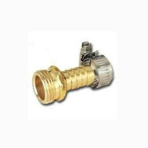"MintCraft GB934M3L 1/2"" Brass Male  Hose Repair End with Clamp"