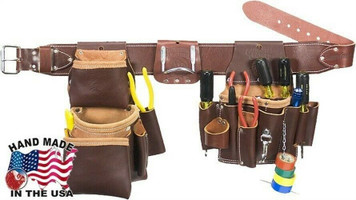 Occidental Leather 5036XXL Leather Pro Electrician XX-Large Tool Belt is made for the electrician that demands a quality all-leather tool organization system.