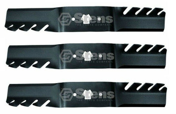 Stens 302-412 3PK Cub Cadet 942-04053C MTD 742-04053 Toothed Blade