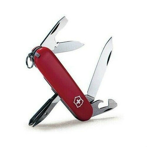 Victorinox 56101 Swiss Army Red Tinker 12 Function Multi Use Pocket Knife