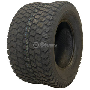 Stens 160-437 2 Kenda Turf Tires 24X12-12 Super Turf Tread 4 Ply Tubeless Lawn Mower Tractor