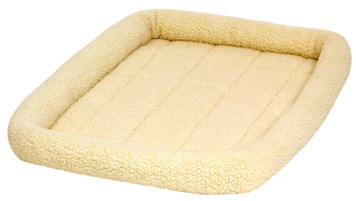 Allied Precision API 152259 Large Cream Color Fleece Pet Bed