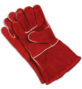 Imperial Cowhide Leather Stove Pipe & Fireplace Gloves Universal Size