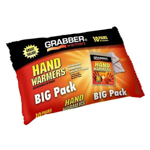 Grabber HWPP10 Big Pack 10 Pairs of Hand Warmers