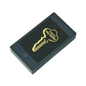 Hy-Ko KC164 Large Secret Hide-A-Key Magnetic Key Holder Black