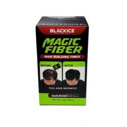 Black Ice Building Fiber Dark Brown