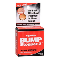 High Time Bump Stopper-2 Skin Razor Bump Treatment 0.5 oz