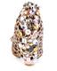 Irregular Choice Spice Swirl- Women's Covered Wedge with Embellishment- Cream