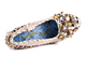Women's Shoes- Irregular Choice Spice Swirl- Women's Covered Wedge with Embellishment- Cream