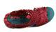 Women's Wedge, Irregular Choice Laugh Cut Loud, Huarache Wedge Sandal, Red