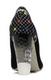 Women's Shoes, Irregular Choice Summer Bucket, High Heel Embroidered pump with lucite heel, Black