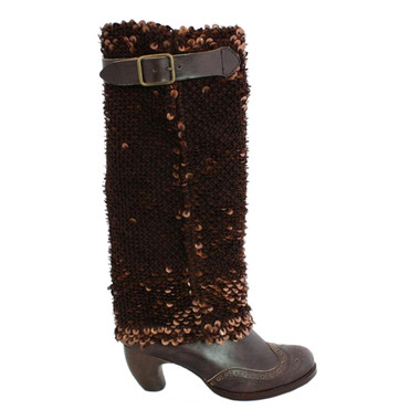Irregular Choice Carnaby Queen, Sequined Boot