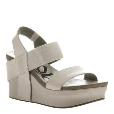 "Women's Shoes online, Shoes for Women, OTBT Bushnell, wedge platform sandal, 3"" heel, Color light clay."