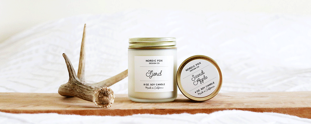 Nordic Fox Candles