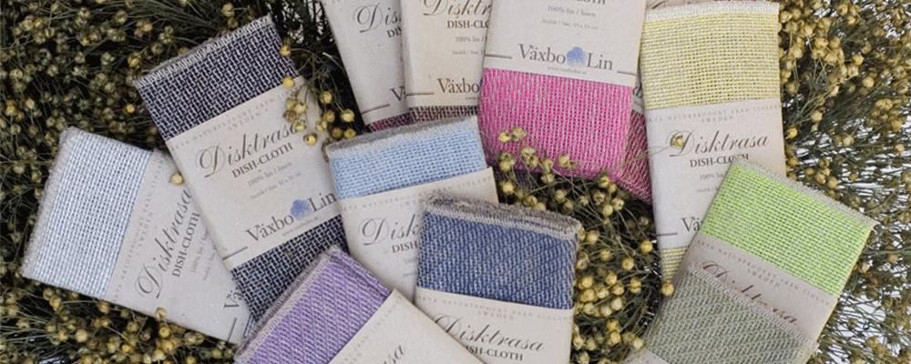 Vaxbo Lin Linen Dishcloths
