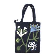 Alma Blue Felt Tote Bag (590311)