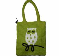 Owl Felt Tote Bag (590326)