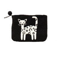 Cat Felt Coin Purse (590434)