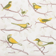 Birds Luncheon Napkins - Sherwood (610038)