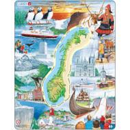 Norge Landmark Puzzle (KS1)
