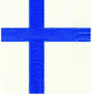 Finland Flag Paper Luncheon Napkins (501991)
