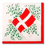 Denmark Flag Luncheon Napkins (501996)