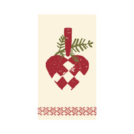 Heart Basket Guest Towel Paper Napkins (14-3252)