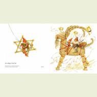 Tomtes on Julbock Christmas Card (20)